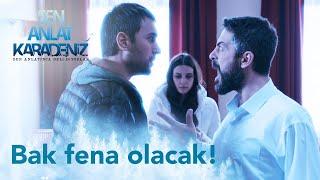 Tahir, Nefes'i eve getiriyor - Sen Anlat Karadeniz 1. Bölüm