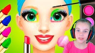 СКАЗОЧНАЯ ПРИНЦЕССА в салоне красоты Видео для детей Игры для девочек
