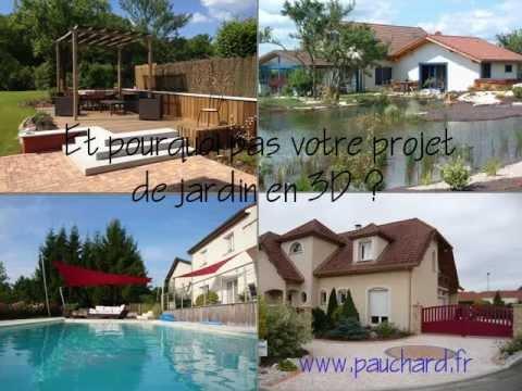 Projet de jardins et de piscines en 3D Sketchup  YouTube