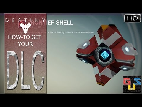 Destiny How To Access Your Ghost Skin Frontier Shell Dlc And Ship Valkyrie 05x Youtube