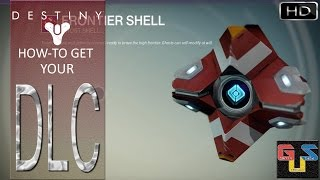 Destiny How To Access Your Ghost Skin (Frontier Shell) DLC And Ship (Valkyrie-05x)