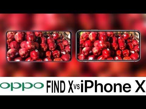 Oppo Find X Vs iPhone X Camera Test