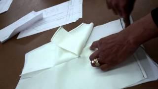 كيفية إنشاء و خياطة تنفيس w بطانة