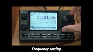 icom ic 7100 base station operation