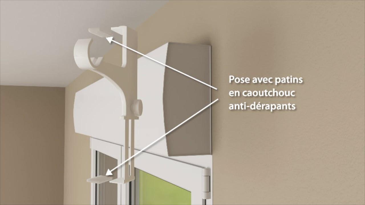 Rideau Caisson Volet Roulant cessot decoration support pour coffre de volet roulant