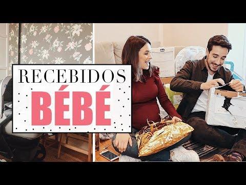 MEGA RECEBIDOS DE BEBE | A Maria Vaidosa