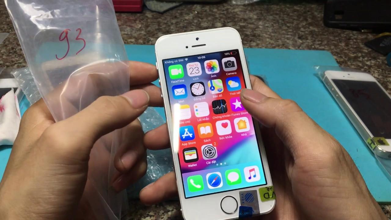 IPHONE 5S ZIN 100% TÌNH TRẠNG ĐẸP 98-99% – IPHONE 5S VỎ THAY  GIÁ RẺ HƠN IPHONE 5G – 23/10/2019
