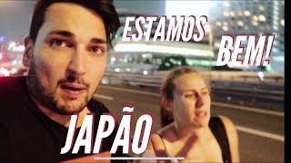 SOBREVIVEMOS a um TUFÃO no JAPÃO e fomos a um CENTRO POKÉMON! - JAPÃO ep. 12