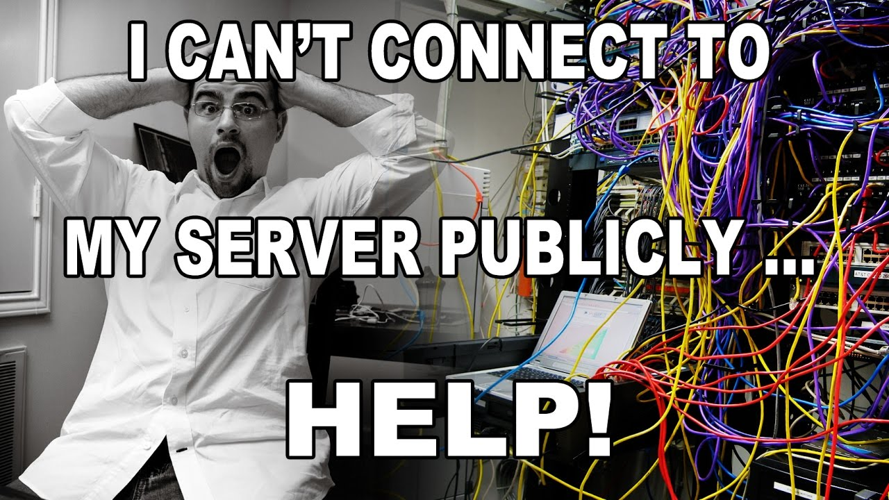 Cant access my server publicly help