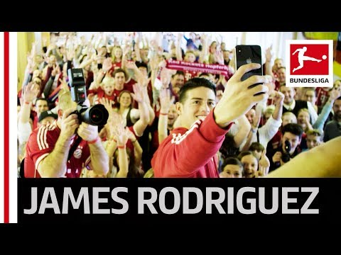 Bayern's James Rodriguez' Funny Fan Club Visit!