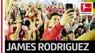 Bayern's James Rodriguez' Funny Fan Club Visit!