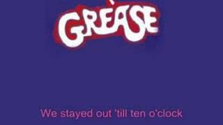 Karaoke - Grease - Summer Nights