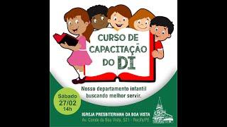 Curso de capacitação Departamento Infantil - UCP