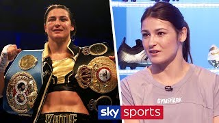 Katie Taylor reveals she had to pretend to be a boy when she started boxing