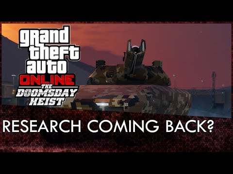 GTA Online Doomsday Heist Can Be Played With 2 Players & Research Returning?
