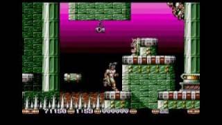Jim Power in Mutant Planet, Atari St (1/6)