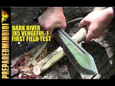 Bark River JX5 Vengeful-1 (CPM3V): First Field Test - Preparedmind101
