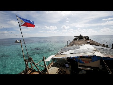 US Military arm stations in Philippine militarizing south china sea dispute 美軍駐菲軍事化南海