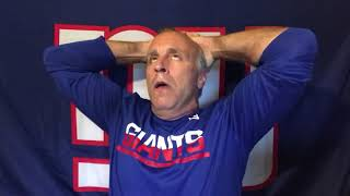 MYBookie.ag Presents The NY Giants Post-Game Locker Room with Vic Dibitetto: Don't Anybody Blink