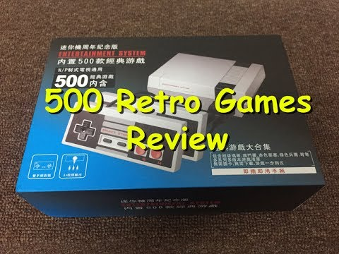 8 Bit Mini NES TV Game Player 500 Games Review
