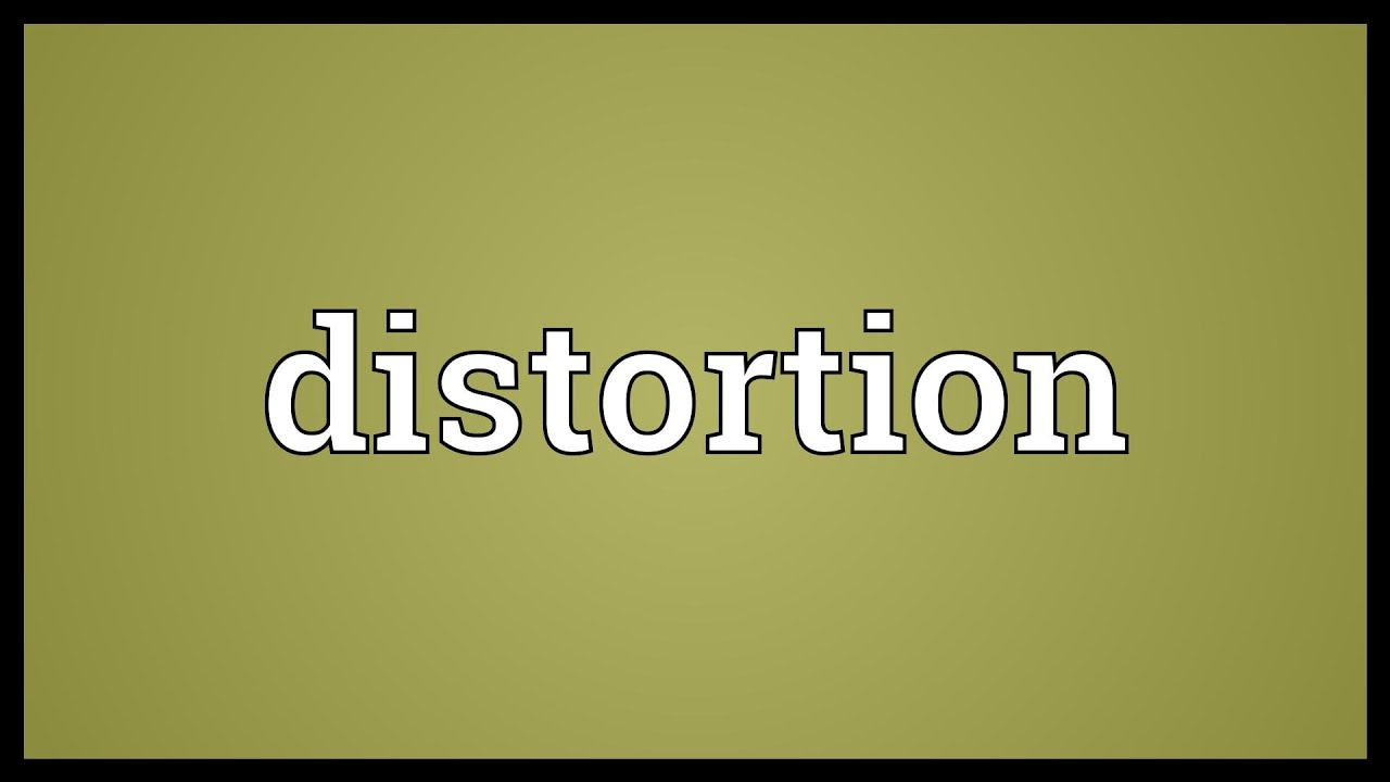 the misrepresentation and distortion of the truth by the media