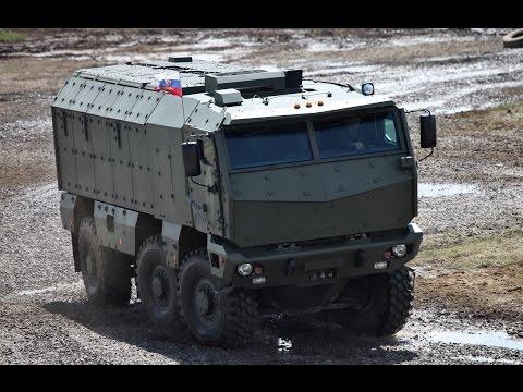 КАМАЗ «Тайфун-К» — универсальный бронированный автомобиль повышенной защищённости.