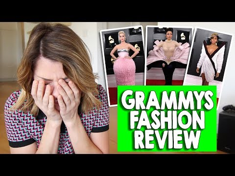 GRAMMYS FASHION REVIEW 2019 // Grace Helbig