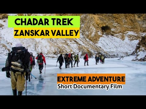 The Most Adventurous Trek in Himalayas (Chadar Trek Zanskar Ladakh )