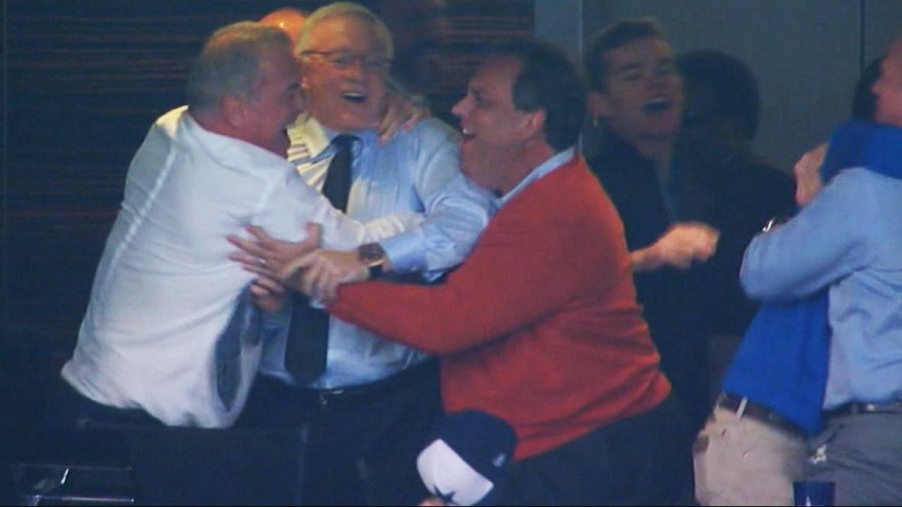 Chris Christie and His Cowboys: Football Fumble? - YouTube