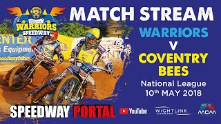 Isle of Wight 'Wightlink Warriors' vs Coventry 'Bees' : National League : 10/05/2018