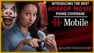 Best Horror Movie Phone Service Ever! (T-Mobile parody)