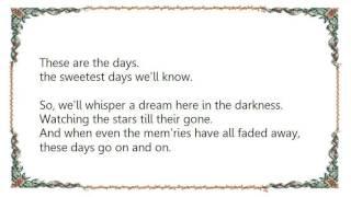 Vanessa Williams - The Sweetest Days Lyrics