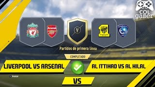 FIFA 17 - SBC - Liverpool vs Arsenal y Al Ittihad vs Al Hilal - Marquesina - Sin Lealtad 2017 Video