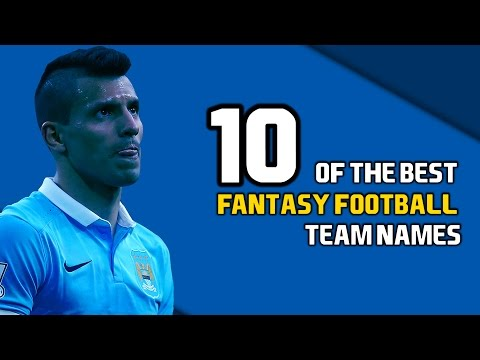 10 Of The Best Fantasy Football Team Names