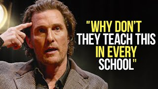 Matthew McConaughey Leaves The Audience SPEECHLESS | One of the Best Motivational Speeches Ever