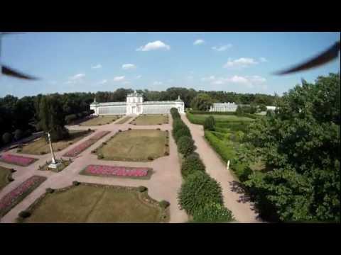 Graf Sheremetiev's Mansion in Kuskovo, Moscow region, Russia - FPV flight
