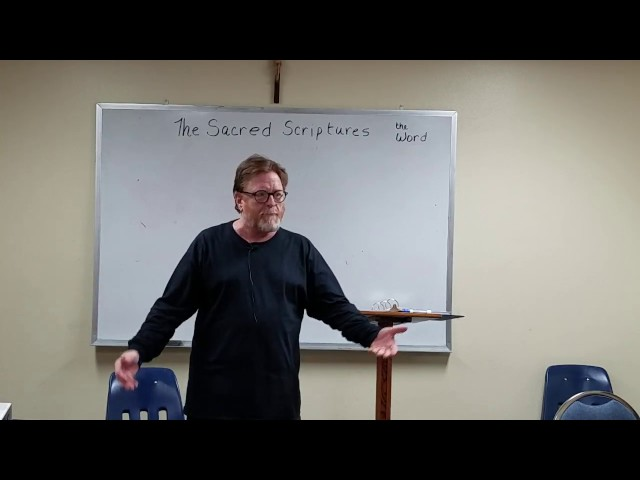 Session 6  Sacred Scripture Part 2