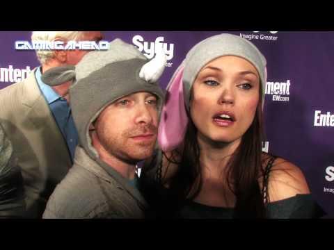 Comic Con 2010 Seth Green and Clare Grant