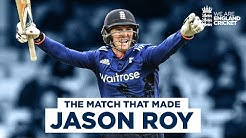 The Match That Made Jason Roy 162 off just 118 Balls England v Sri Lanka 4th ODI 2016