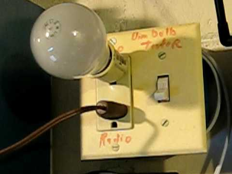 How to use a Dim Bulb Tester - Bad Tube Radio with internal short circuit  from www ppinyot com
