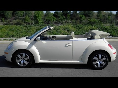 sold.2006 VW NEW BEETLE CONVERTIBLE 2.5 130K AUTOMATIC LEATHER CALL 855 507 8520
