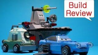 Lego Cars 2 (레고 카2) 8426   Escape At Sea - Car Toys Build Review