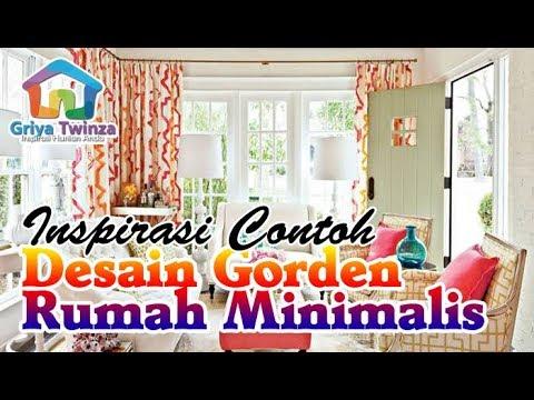 Model & harga gorden untuk jendela rumah minimalis terbaru