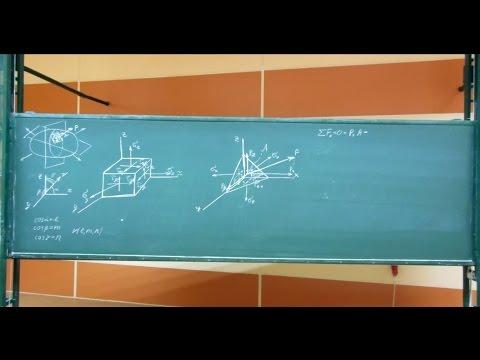 Сопротивление материалов. Лекция 21 (тензор напряжений, главные напряжения)