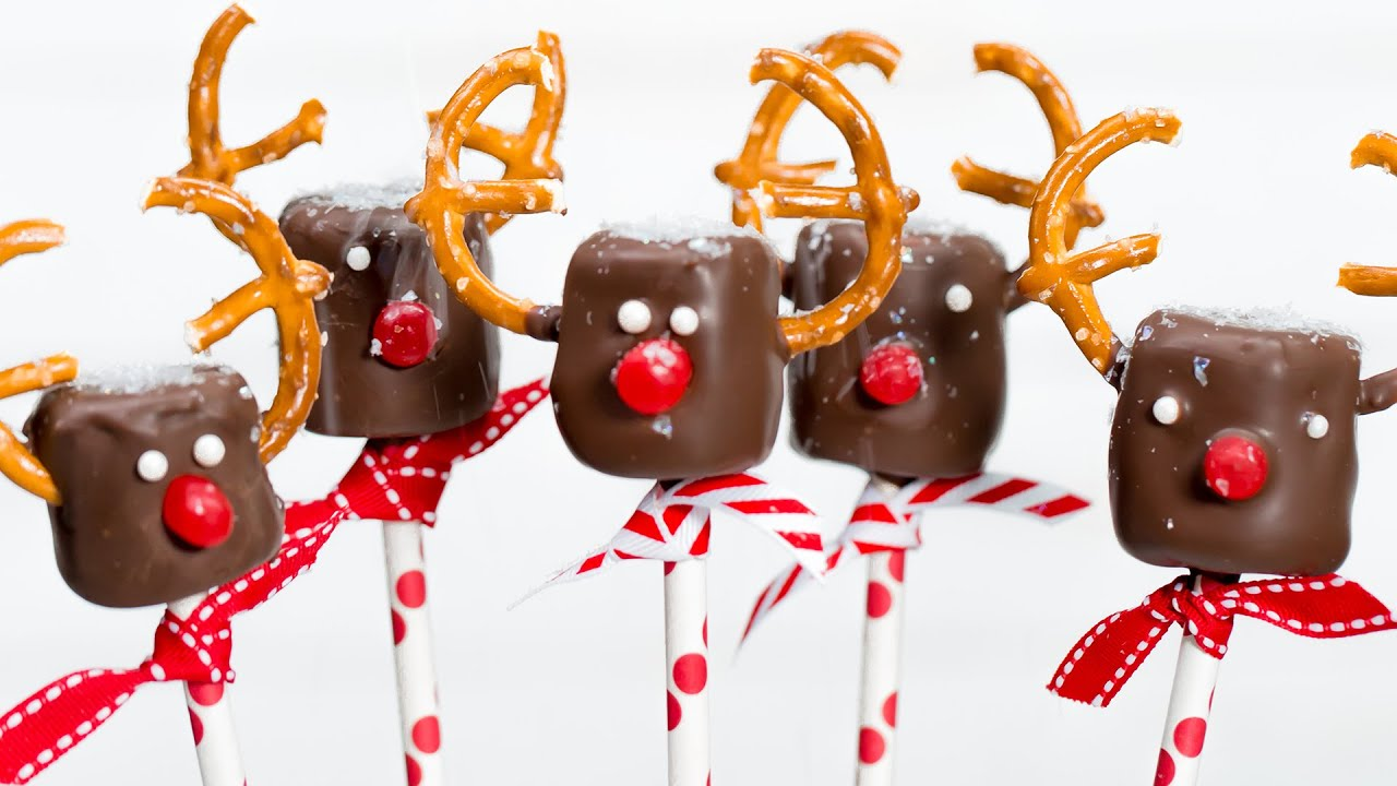 Marshmallow reindeer pops southern living youtube for Southern living login