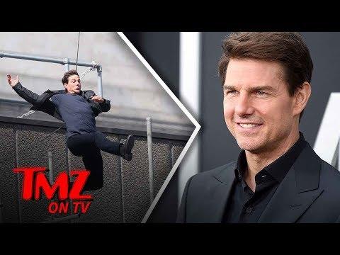 Tom Cruise Is Doing His Own Stunts Again  TMZ TV