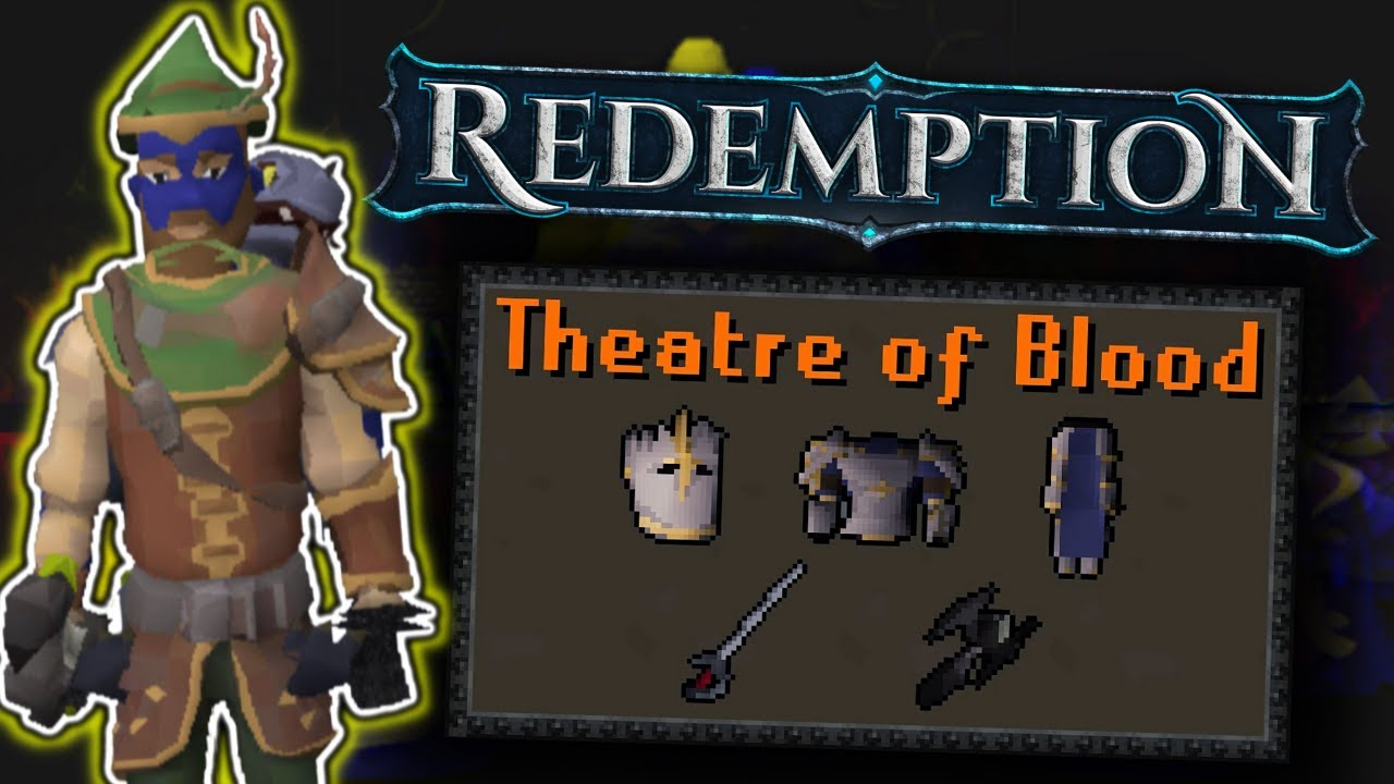 The Ultimate Custom Theatre Of Blood Guide! *MAD MONEY* (BIG GIVEAWAY) - Redemption RSPS