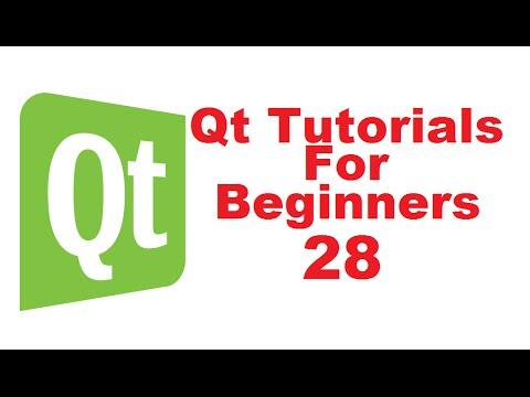 Qt Tutorials For Beginners 28 - QTabWidget