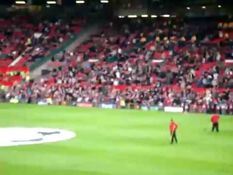 Take Me Home United Road, Old Trafford , Manchester United,  Man Version Full Song LIVE!