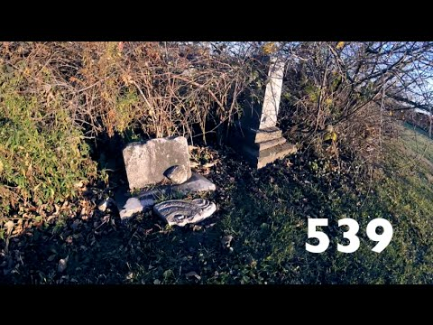 A Sunset Exploration Of An 1800s Graveyard